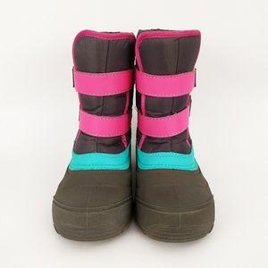 Wonder Nation Girls Winter Snow Boots Size 1